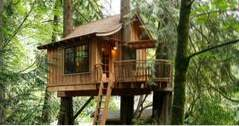 TreeHouse Point, en Nature Hideaway nära Seattle, Washington (idéer)