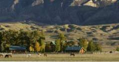 Weekendresor i Wyoming The Hideout Lodge & Guest Ranch (äventyr)