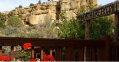 Utah Getaways Slot Canyons Inn en North Creek Grill in Escalante (Utah)